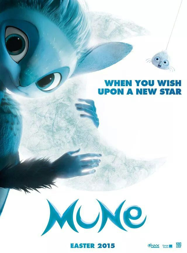 Poster At The New French Animated Film Mune Animation 3d