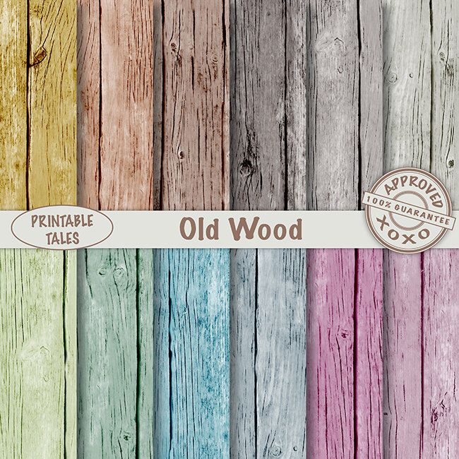 Old Wood Texture Digital paper Scrapbook background, Distressed Fence Colored Paper Pack Paper Crafts wood pages Royalty Free Commercial Use by PrintableTales on Etsy https://www.etsy.com/listing/228533118/old-wood-texture-digital-paper-scrapbook