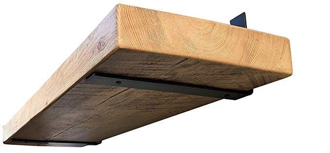 Industrial Forged Steel Floating Shelf L J Bracket By Diy Cartel Heavy Duty Rustic Shelf Bracke Floating Shelf