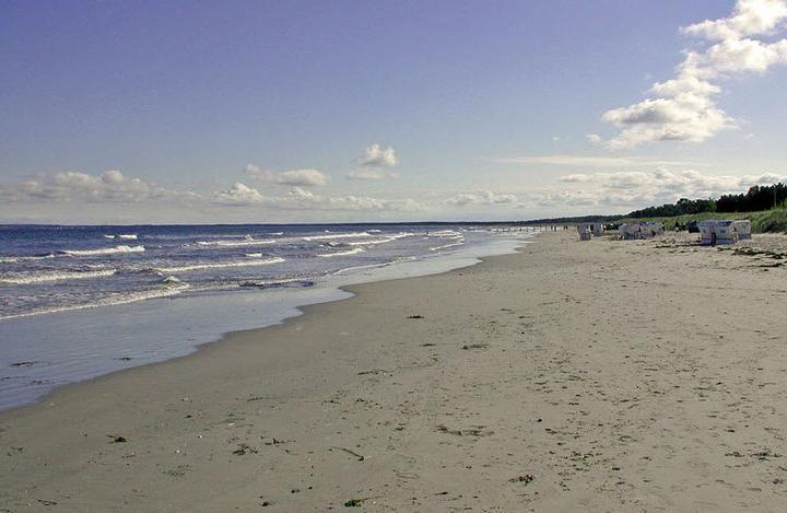 Strand von Juliusruh auf Rügen