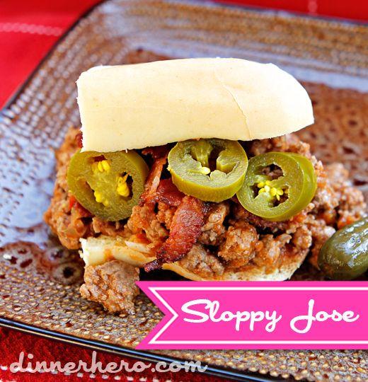 Sloppy Josés Recipe