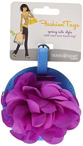 Travel Smart by Conair Flower Luggage Tag