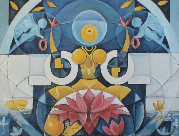 Gallery of Chennai based indian contemporary artist Cheenu Pillai
