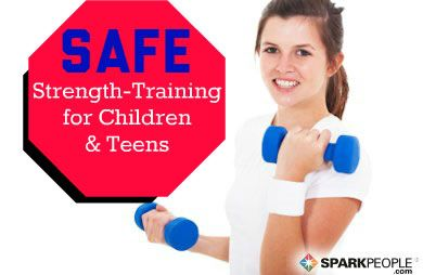 Strength Training Guidelines for Children and Teens via @SparkPeople
