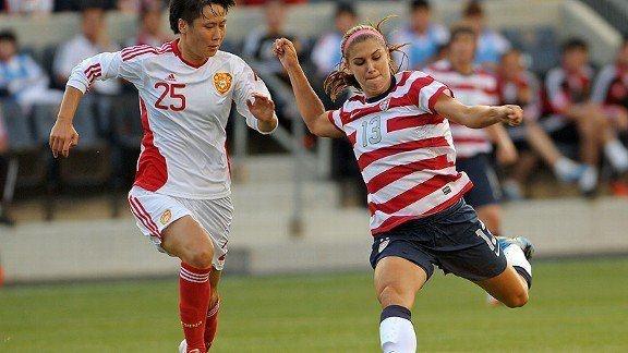 U.S. Women's National Team Defeats China on May 27: Soccer News   http://sports.yahoo.com/news/u-women-national-team-defeats-china-may-27-091700068--sow.htmlGirls Soccer, Sports News, Soccer News, Soccer Style, Pin Today, Random Pin, Women'S Soccer, Alex Morgan, Alex O'Loughlin