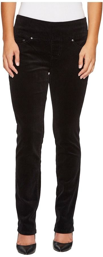 Jag Jeans Petite - Petite Peri Pull-On Straight in Refined Corduroy Women's Jeans