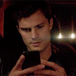 "I take out my cell phone to text Christian....""Thank you! Thank you! Thank you!"""