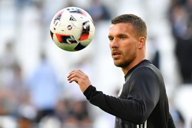 #rumors  World Cup-winning former Arsenal star Lukas Podolski to join Japanese club Vissel Kobe