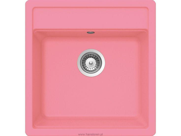 Nemo N-100 S A Schock zlewozmywak granitowy 490x510 pink - NEMN100SAGPK http://www.hansloren.pl/Zlewozmywaki-granitowe/Zlewozmywaki-1-komorowe/SCHOCK