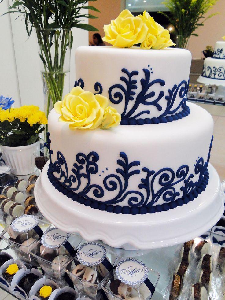 Azulejo português // bolo