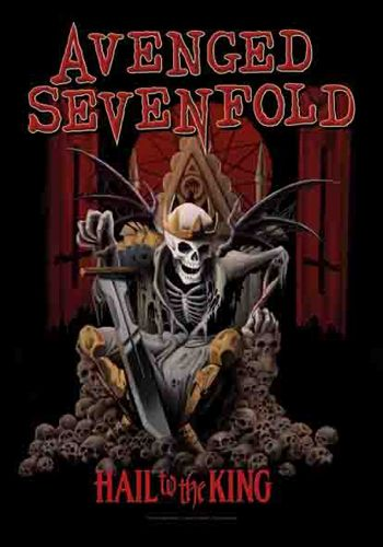Drapeau AVENGED SEVENFOLD - Hail To The King