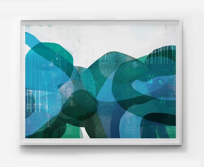 Wetlands - Limited Edition Print 45x60 $495 Lindsay Blakey