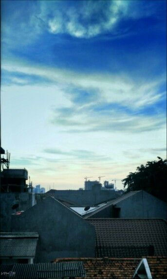Some where in jkrta #ibukota #jakarta #sky