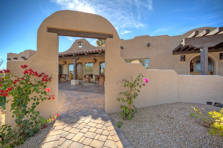 Phoenix Real Estate Photography: Carefree Luxury Home