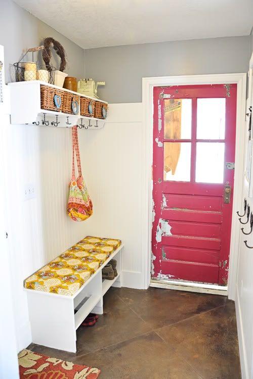 Hall idea: Idea, Interior Mudrooms, Entry Mudroom, Mud Rooms, Mudrooms Entryways, Laundry Mudroom, Mudroom Laundry