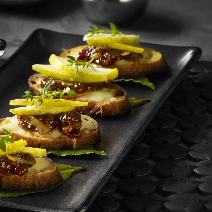 Crostini à la marmelade au bacon | PC.ca