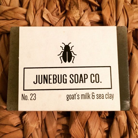 Goats Milk & Sea Clay Bar Soap - All Natural Soap, Detox Soap, Handmade Soap, Unscented Soap, Clay Soap, Homemade Soap, Facial Soap  Weve added mineral-rich sea clay to our Goats Milk base to create this detoxifying and skin-pleasing bar.  Sea clay (the clay commonly used to make Sea
