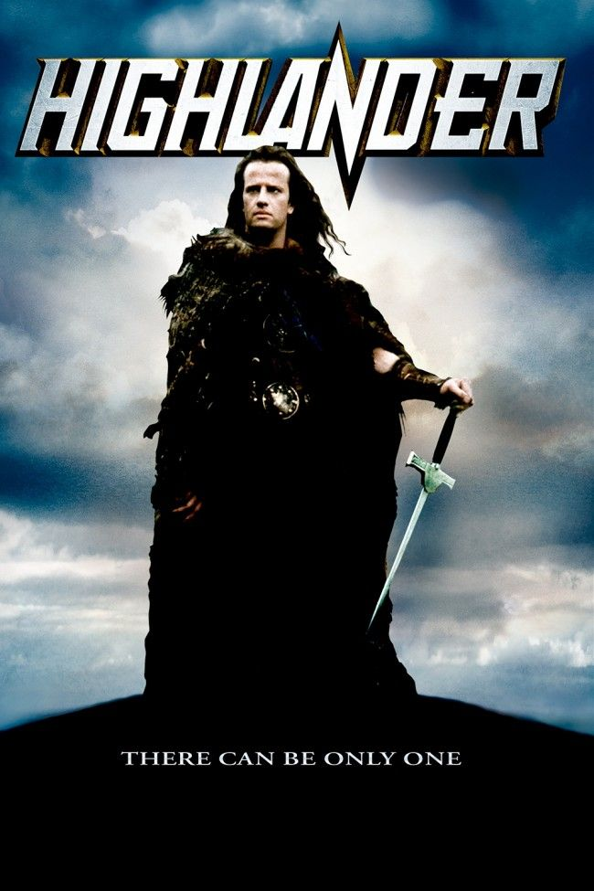 HIGHLANDER (1986): I love this movie and the music score by Queen.