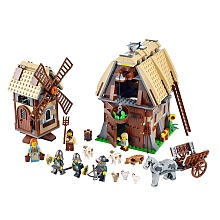 lego kingdom mill village raid..both