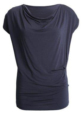 T-shirt med tryck - night blue