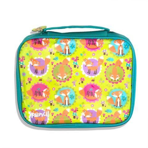A 51 - Lunch Bag for Kids - Friendly Foxes - School Depot NZ  - 1