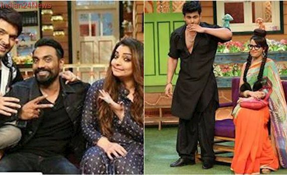 Kapil Sharma Show's cast gets a new addition and it is Sanjay Dutt. Watch his videos