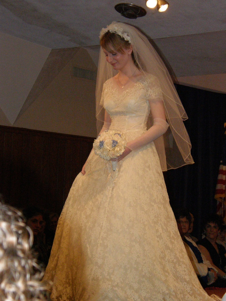 """Our annual style show """"I Thee Wed:  100 Years of Bridal Fashion"""" is coming up!  Tickets are SOLD OUT this year, but we are always looking for dresses to borrow from the community for our next show."""