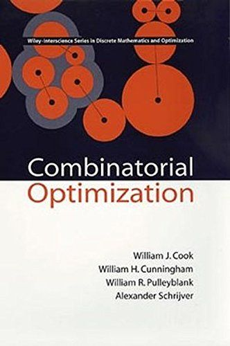 Combinatorial Optimization:   A complete, highly accessible introduction to one of today's most exciting areas of applied mathematics<br /> <br /> One of the youngest, most vital areas of applied mathematics, combinatorial optimization integrates techniques from combinatorics, linear programming, and the theory of algorithms. Because of its success in solving difficult problems in areas from telecommunications to VLSI, from product distribution to airline crew scheduling, the field has...