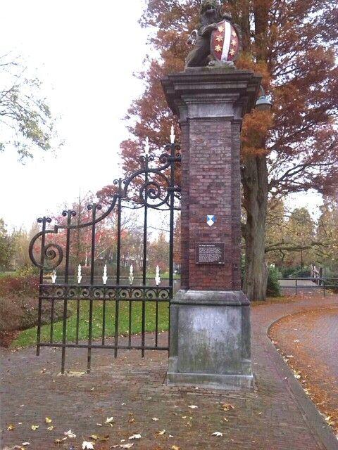 Ingang van Bergen IJzerdoornpark
