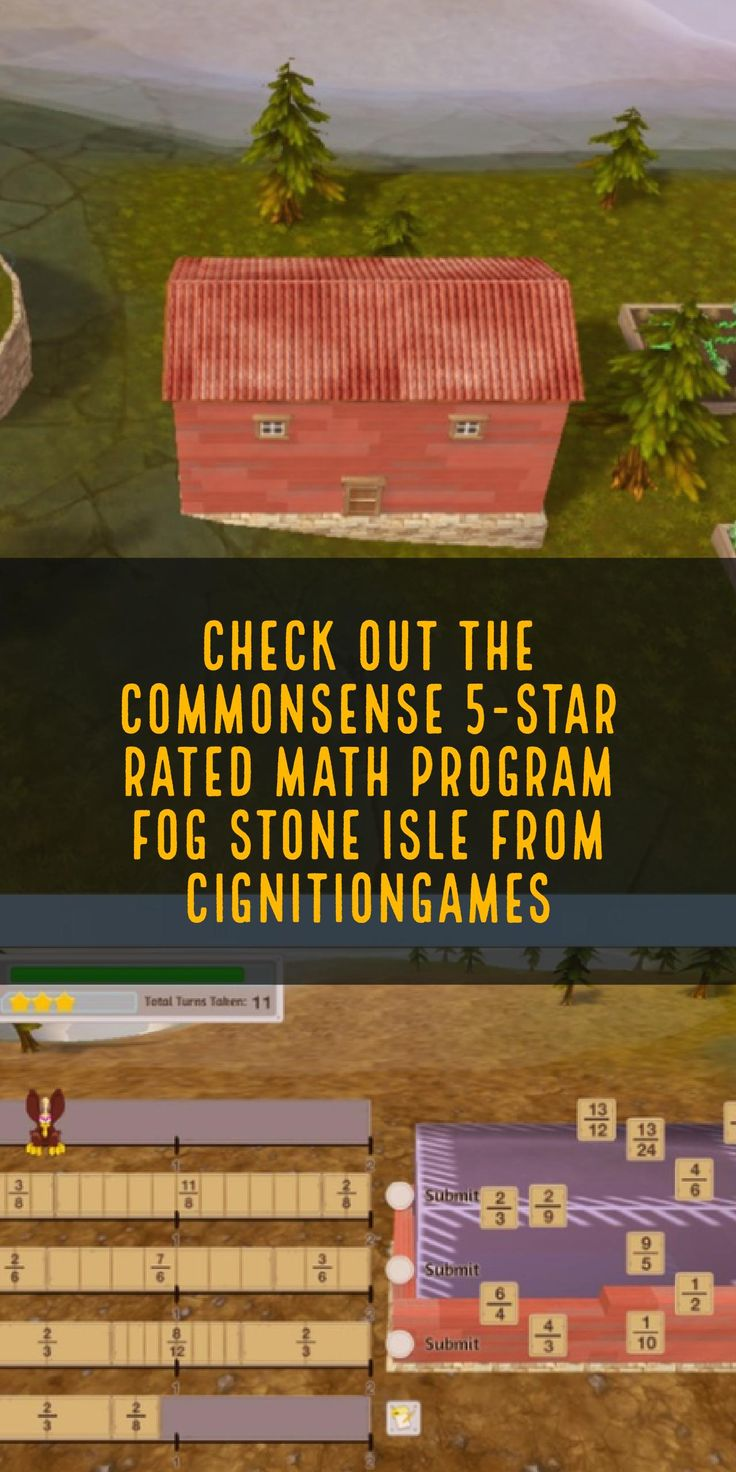 Check out Fog Stone Isle -> free virtual world math program for Grades 4-8 with a @CommonSense 5-star rating #Spon  math website, teacher websites, free math games