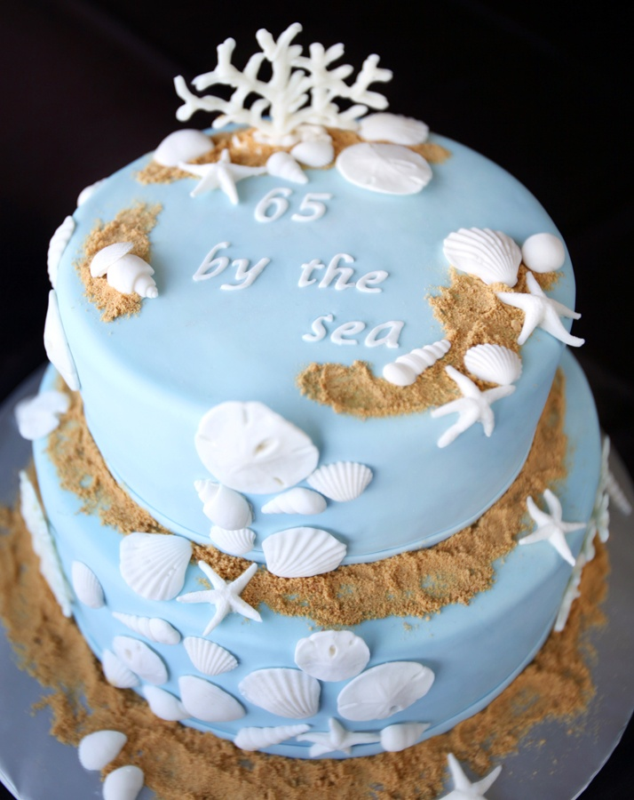 Cakes by Setia: Sea Shells by the Sea Cake
