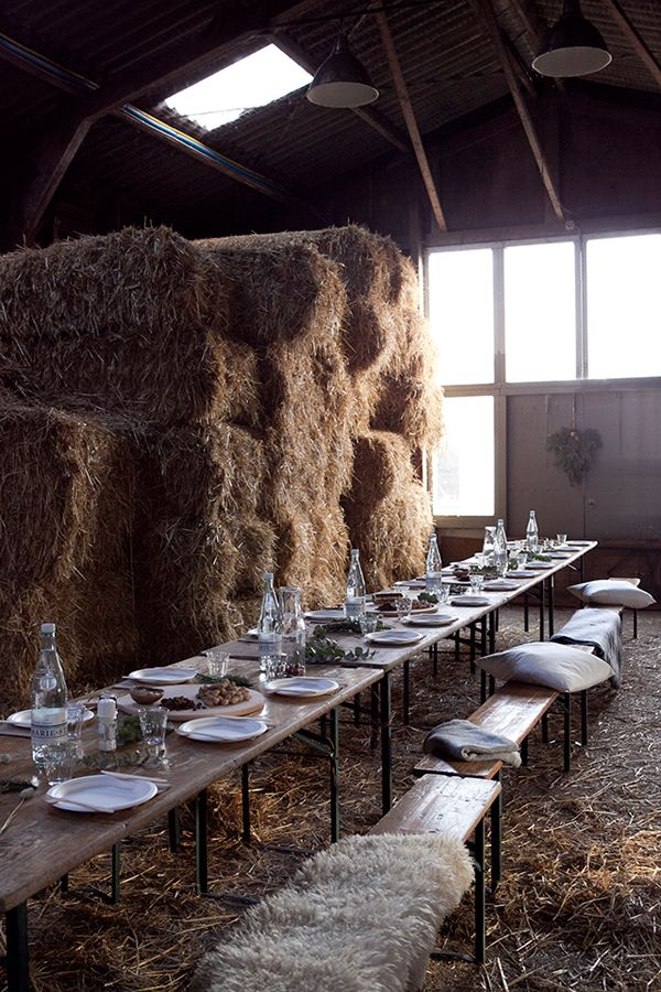 A WINTER BBQ IN A DUTCH BARN | THE STYLE FILES