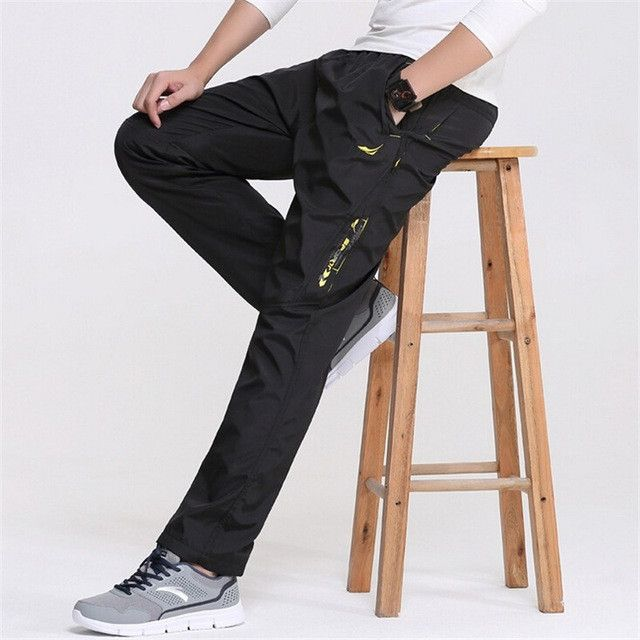 New 3 Colors 2017 Spring Outside Men's Casual Pants Quickly Dry Men's Working Pants Man Trousers & Sweatpants waterproof Pants
