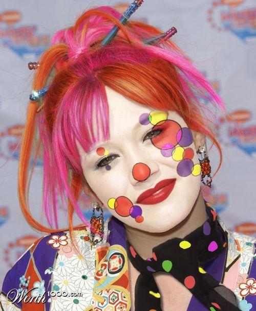 Fun Clown Face Ideas