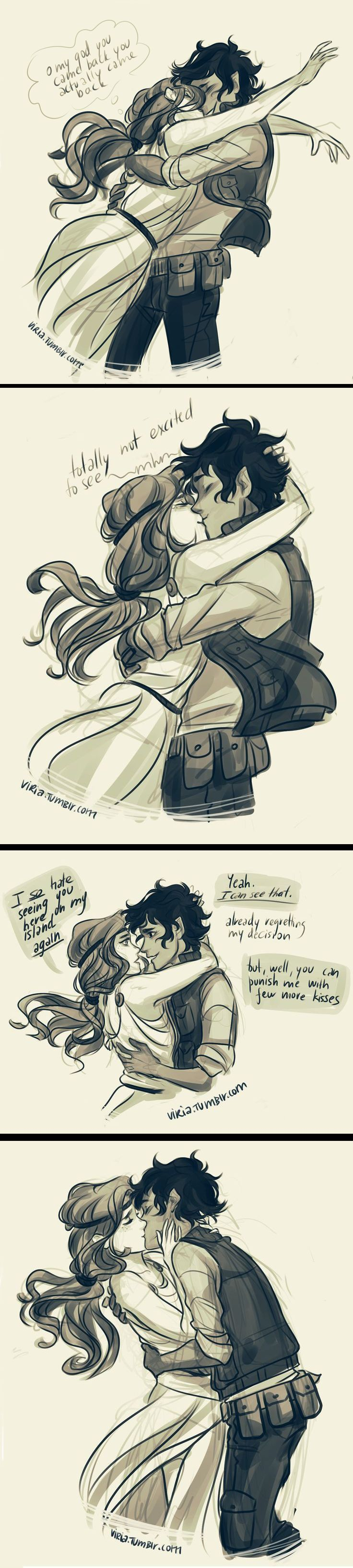 CALEO!!!!! I ship it. It's cute. | Leo Valdez, Son of ...