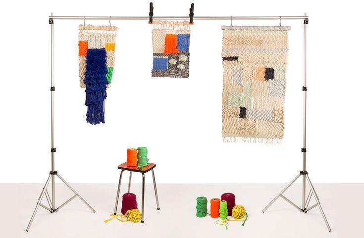 PAELLA SHOWROOM. Fotos de arte textil  Fotografía: kinokistudio