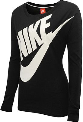 NIKE Women's Signal Long-Sleeve T-Shirt - SportsAuthority.com