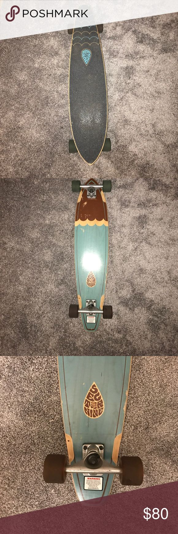 Sector Nine longboard This longboard had a good run with me for about a year, but I don't ride it enough to justify having it! Some of the paint on the bottom has been scratched off but that is the only damage to the board! Feel free to comment with questions about it! sector nine Other