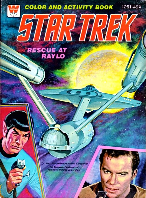 plaid stallions rambling and reflections on 70s pop culture colouring book theatre star trek rescue at raylo star trek rescue at raylo pinterest - Star Trek Coloring Book