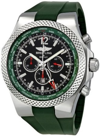 Breitling Men's A47362S4-B919 Bentley GMT Chronograph Watch: