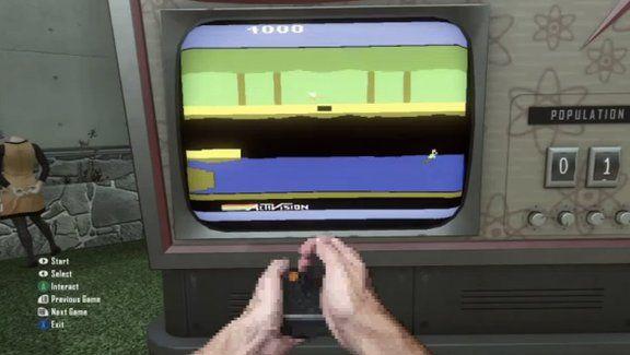 Call of Duty: Black Ops II - Playable Atari games