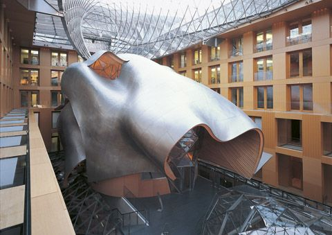 Dz Bank Building  #architecture #Frank #Gehry Pinned by www.modlar.com