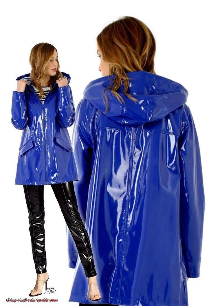 Vinyl Rain   Rainwear fashion, Shiny clothes, Rainwear girl