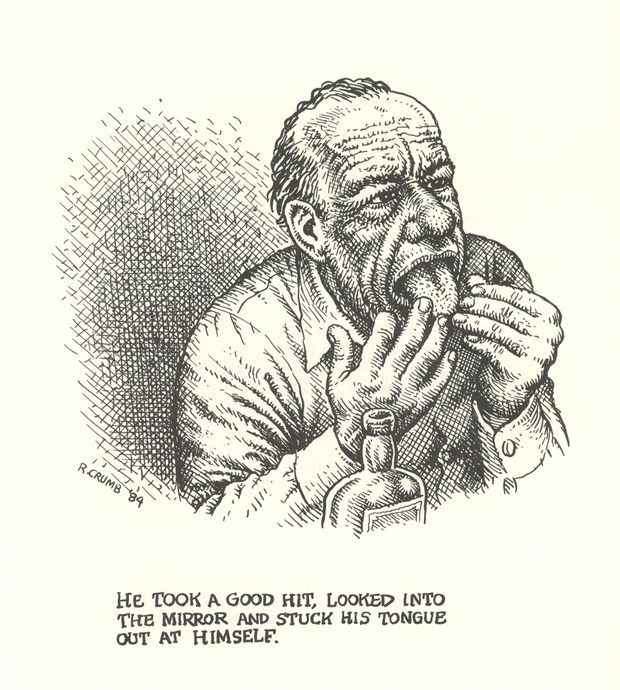 Bukowski illustrato da R. Crumb... fantastico| Brain Pickings