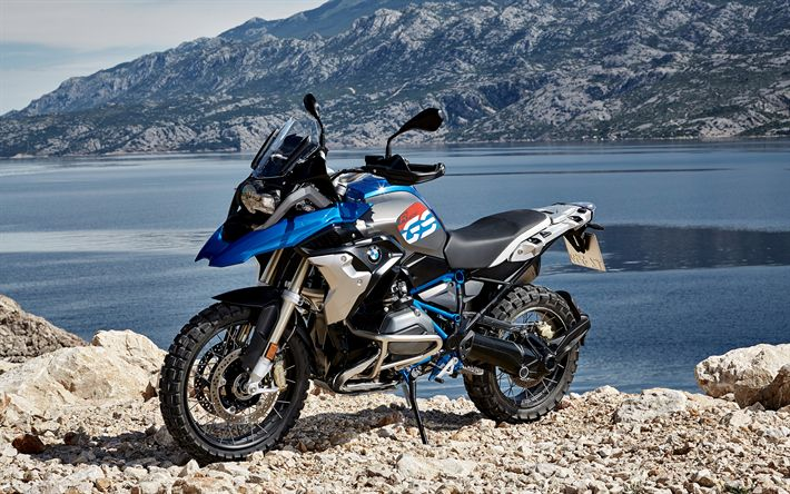 Download Wallpapers BMW R 1200 GS, 4k, 2018 Bikes