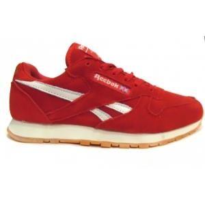 Красный кроссовки reebok