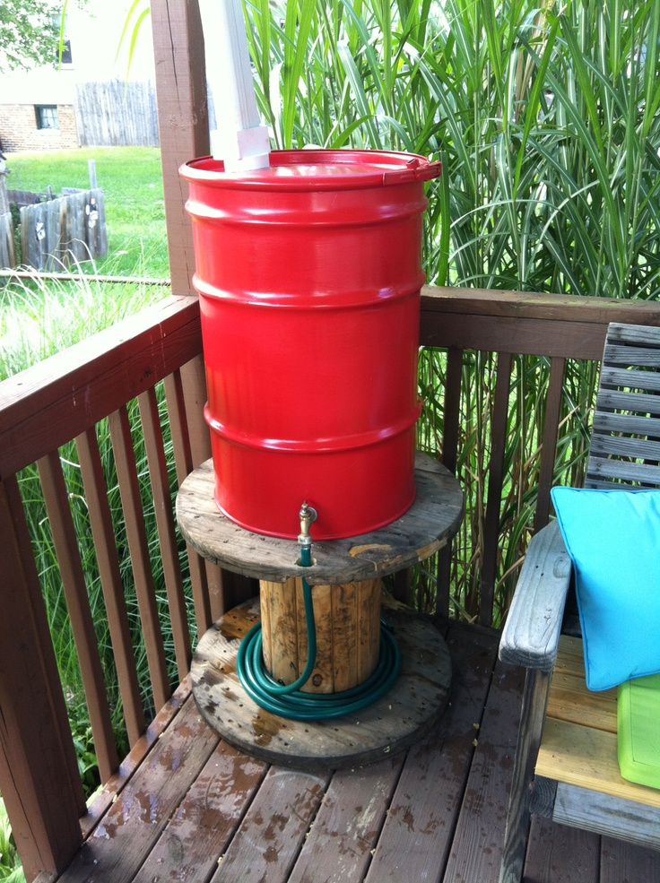 Epic Rain water collection barrel
