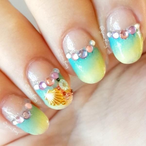 Ombre nails - The Best Images | BestArtNails.com