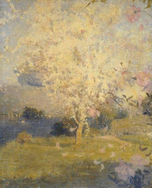 Charles Conder, Springtime, 1892
