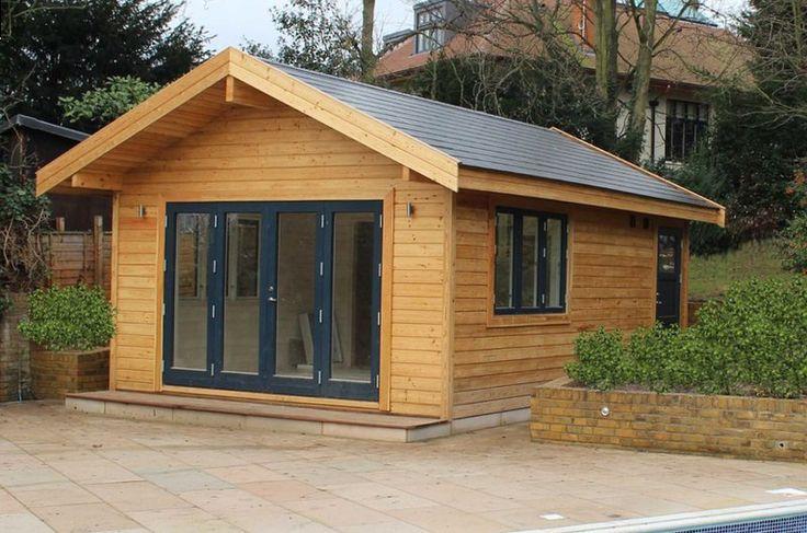 Kit maison cabane chalet abri bureau ou studio d 39 art de for Imposition garage ou abri de jardin